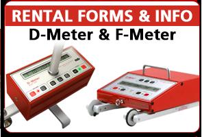 D-Meter F-Meter Rentals
